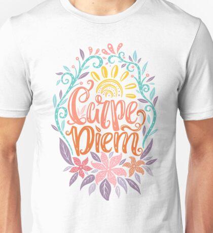 Carpe Diem - Seize the day Latin phrase Unisex T-Shirt