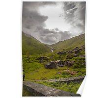 Views towards Nirvana - Annapurna Valley - Nepal Poster