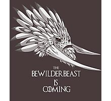 The Bewilderbeast is Coming Photographic Print