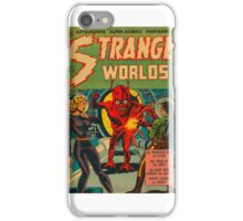 Strange Worlds - The Monster Men of Space iPhone Case/Skin