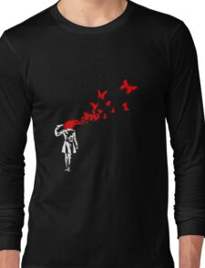 Banksy - Girl Suicide Long Sleeve T-Shirt
