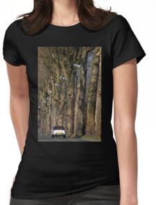 Journey in Paris Womens Fitted T-Shirt