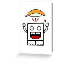 SUSHI!!! Greeting Card