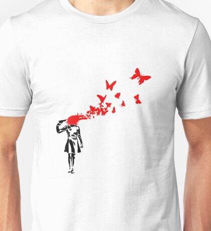 Banksy - Girl Suicide Unisex T-Shirt