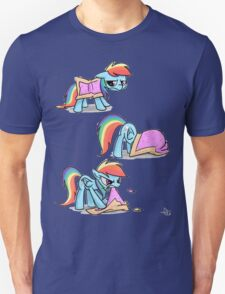 Rainbow Dash Nyan cat Unisex T-Shirt