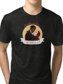 Frankly My Dear Tri-blend T-Shirt
