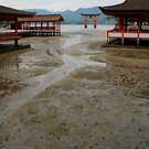 Itsukushima Shrine and torii gate by Perggals© - Stacey Turner