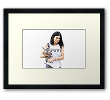 Obviously, Kylie's Here Framed Print