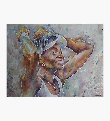 Venus Williams - Portrait 1 Photographic Print