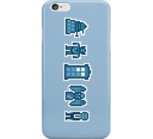 Time and Space Invaders iPhone Case/Skin
