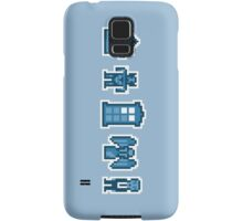Time and Space Invaders Samsung Galaxy Case/Skin