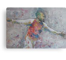Thierry Henry - Portrait 2 Canvas Print