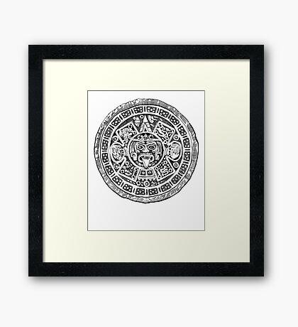 Mayan Amulet Framed Print