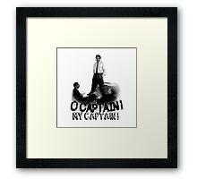Dead Poet's Society - O Captain! My Captain! Framed Print