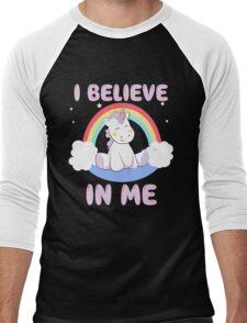 Cute Unicorn Men's Baseball ¾ T-Shirt