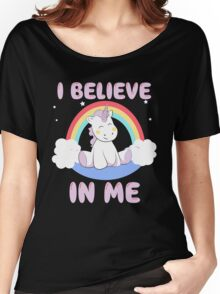 Cute Unicorn Women's Relaxed Fit T-Shirt