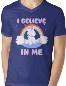 Cute Unicorn Mens V-Neck T-Shirt