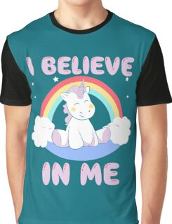 Cute Unicorn Graphic T-Shirt