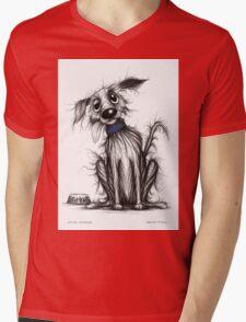 Little Stinker Mens V-Neck T-Shirt