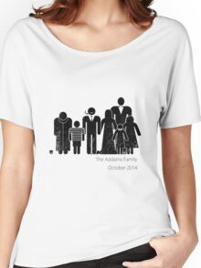 Addams Family Shire 2 Women's Relaxed Fit T-Shirt