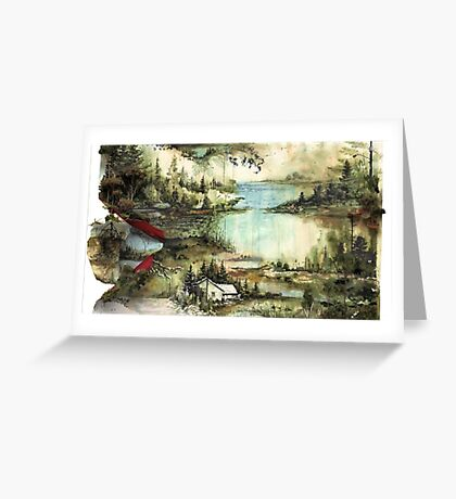 Bon Iver Greeting Card
