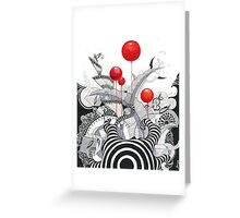 Has Anybody Seen My Zebra? Greeting Card