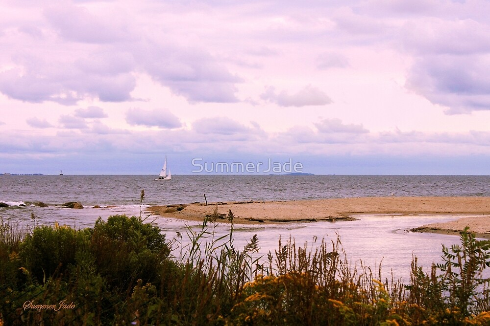 Sandbar ~ Sailboat ~ Soliloquy by SummerJade