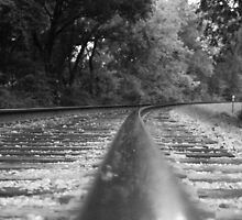 Reflecting on the Tracks by StonedOgraphy