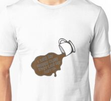 Mindless Self Indulgence Inspired Design - I Like My Coffee Black Just Like My Metal Unisex T-Shirt