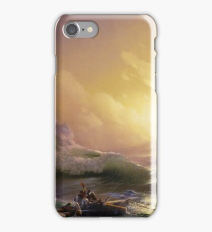 Aivasovsky Ivan - The Ninth Wave iPhone Case/Skin