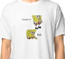 spongebob - breathe in Classic T-Shirt