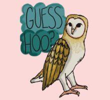 Guess Hoo? One Piece - Short Sleeve