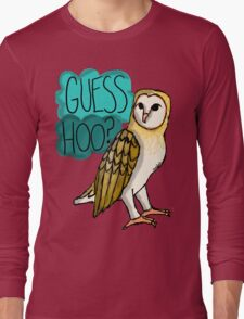 Guess Hoo? Long Sleeve T-Shirt