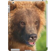 Blond Grizzly Bear iPad Case/Skin