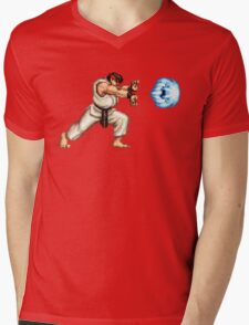 Ryo Hadouken Mens V-Neck T-Shirt