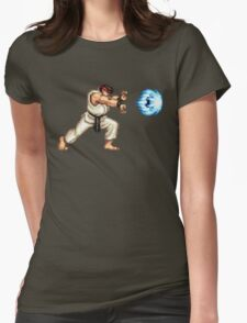 Ryo Hadouken Womens Fitted T-Shirt