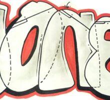 "Simple sketch ""IonE"" Sticker"
