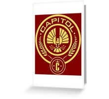The Hunger Games Capitol Seal Greeting Card