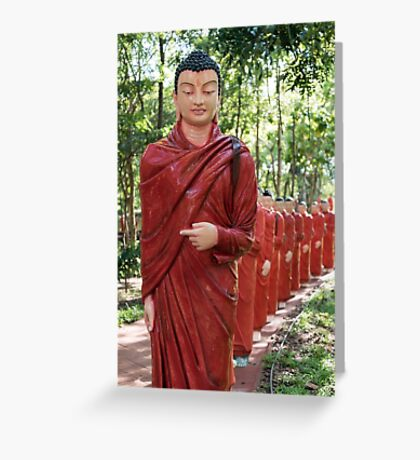 Temple of 500 Arahants, Sri Lanka Greeting Card