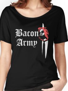 Bacon Army Women's Relaxed Fit T-Shirt