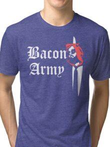 Bacon Army Tri-blend T-Shirt