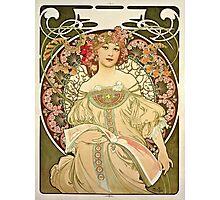 Alphonse Mucha - Champagne 1897  Photographic Print