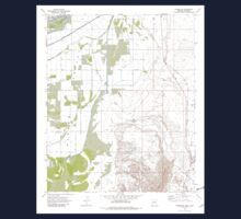 USGS TOPO Map Arizona AZ Parker SE 312783 1970 24000 Kids Tee