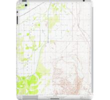 USGS TOPO Map Arizona AZ Parker SE 312783 1970 24000 iPad Case/Skin