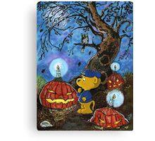 Ferald and The Rotten Pumpkins Canvas Print