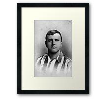 Sheffield United Football Club Fatty Foulkes, c. 1900 Framed Print