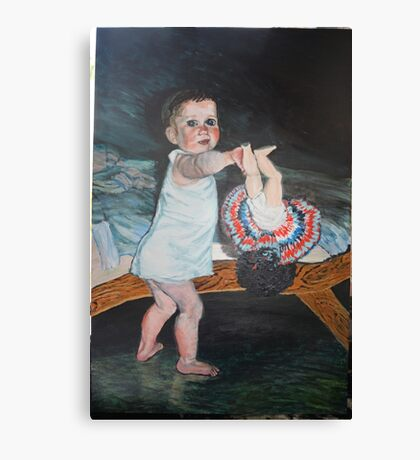 Shiftworker's baby or poor person's baby Canvas Print