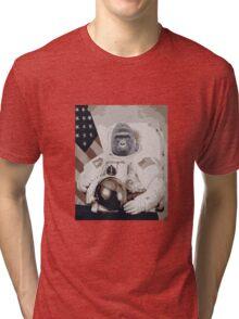 Harambe Astronaut Tri-blend T-Shirt