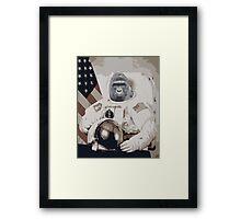 Harambe Astronaut Framed Print