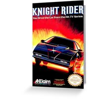 Knight Rider Greeting Card